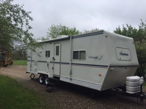 2002  Coachman Cascade 26RBS Travel Trailer w/ 14' super slide.    $7,700