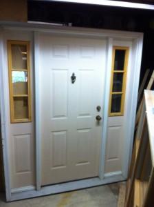 """Used door, Good shape, 6 9/16 jamb, 6'-8""""h x 5'-8"""" w, 36"""" door  $ 65.00"""